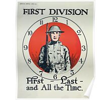 First Division First last and all the time Poster