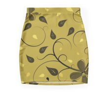 Swirls of peace Mini Skirt