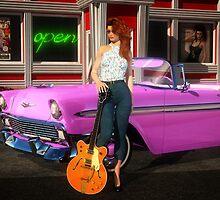 '56 Rockabilly Queen by DYoungDigital