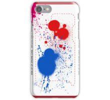 Splattered iPhone Case/Skin
