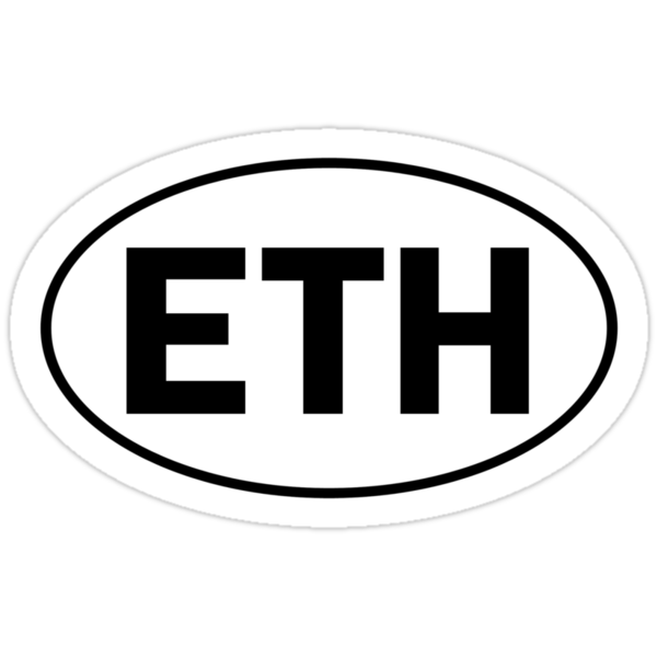ETH - Oval Identity Sign by Ovals