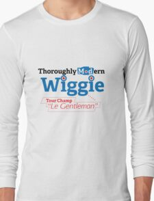 Bradley Wiggins - tour de france Long Sleeve T-Shirt