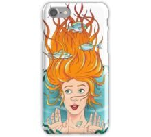I'm drowning in the rain iPhone Case/Skin