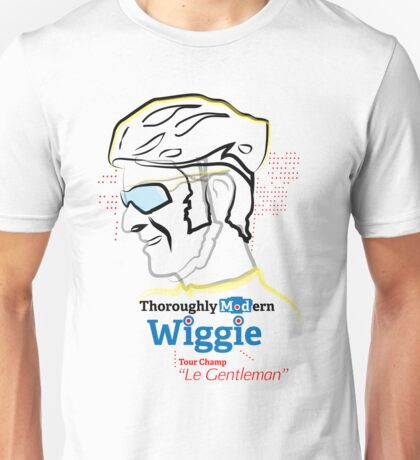 Bradley Wiggins - tour de france - Tour champion Unisex T-Shirt