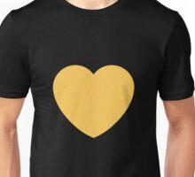 Yellow heart emoji Unisex T-Shirt