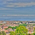 Roma, view from Gianicolo, HDR by smithj7