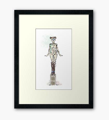 Original Sculpture by J.Robert Griego Framed Print