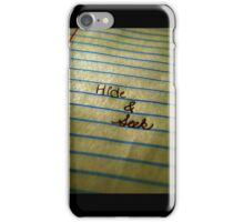 Hide and Seek iPhone Case/Skin