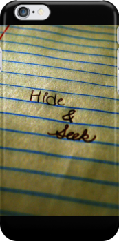 Hide and Seek by Erin O'Neill