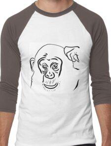 Year of the Monkey 2016 : Chinese Zodiac Sign  Men's Baseball ¾ T-Shirt