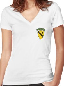 200th Gabba Division - Rave Veteran Women's Fitted V-Neck T-Shirt