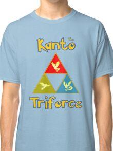 Kanto's Legendary Triforce Classic T-Shirt