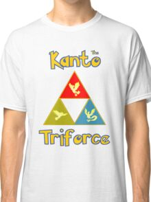 Kanto's Legendary Triforce Classic T-Shirt
