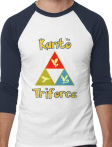 Kanto's Legendary Triforce Men's Baseball ¾ T-Shirt