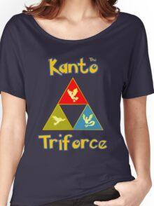 Kanto's Legendary Triforce Women's Relaxed Fit T-Shirt