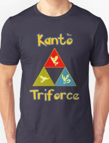 Kanto's Legendary Triforce T-Shirt
