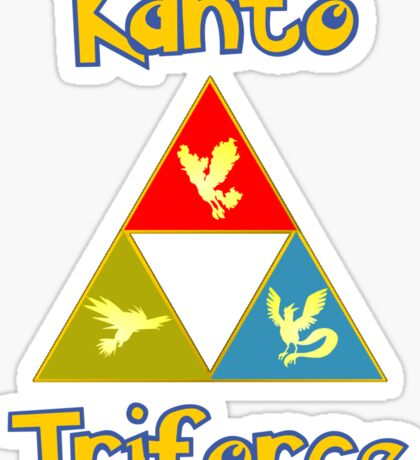Kanto's Legendary Triforce Sticker