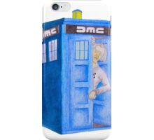 Doc and his Tardis iPhone Case/Skin