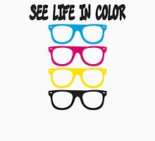 See live in color - CMYK Glasses Unisex T-Shirt