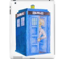 Doc and his Tardis iPad Case/Skin