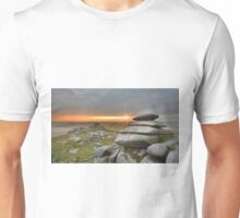 Cornwall: Sunburst on Roughtor Unisex T-Shirt