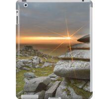 Cornwall: Sunburst on Roughtor iPad Case/Skin