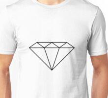 Fugitive Diamond Only Clear Unisex T-Shirt