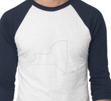New York - The Empire State Men's Baseball ¾ T-Shirt