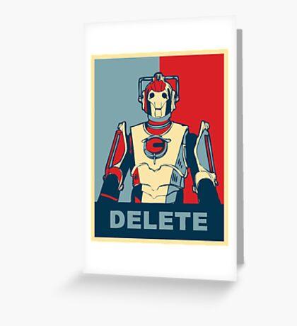 Cybermen Hope Greeting Card