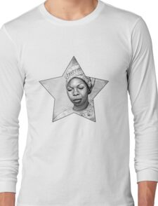 Nina Simone Long Sleeve T-Shirt