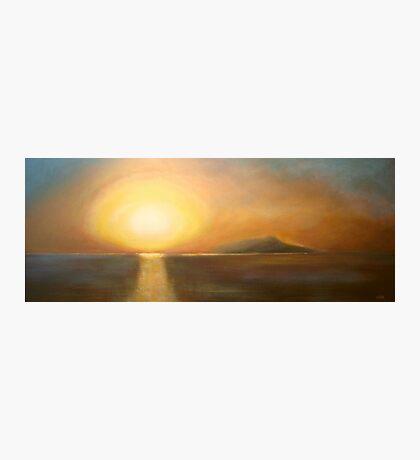 Sunset over Ischia Photographic Print