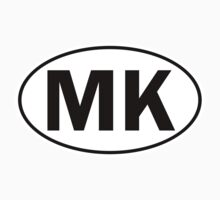 MK - Oval Identity Sign by Ovals