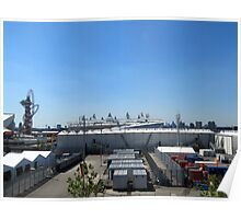 The Olympic Village, Stratford, London Poster