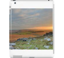 Cornwall: Last Light on Bodmin Moor iPad Case/Skin