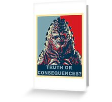 Zygon Hope Greeting Card