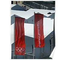 Olympic banners, London, 2012 Poster