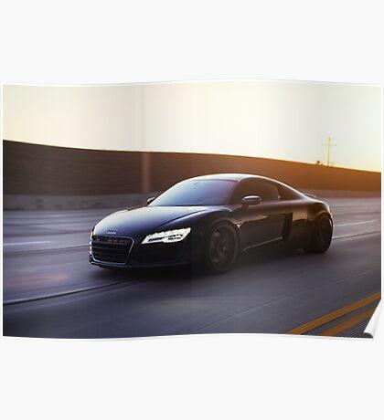 Siniser Audi R8 Poster