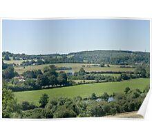 Chiltern Hills Oxfordshire Poster