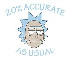 Rick - 20% Accurate! by itsumi