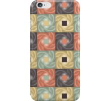 Abstract Squares of Color Grid iPhone Case/Skin