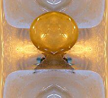 Golden Ice Basins by Paul Thomas