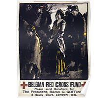 Belgian Red Cross fund 644 Poster