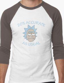 Rick - 20% Accurate! Men's Baseball ¾ T-Shirt