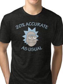 Rick - 20% Accurate! Tri-blend T-Shirt