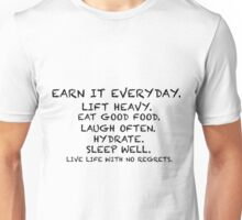 Live It Unisex T-Shirt