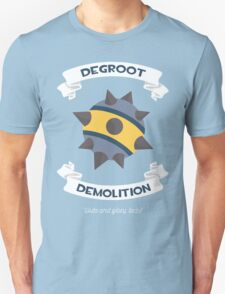 Degroot Demolition 2 (BLU) Unisex T-Shirt