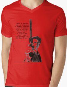 Dirty Harry Charity Mens V-Neck T-Shirt