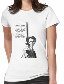 Dirty Harry Charity Womens Fitted T-Shirt