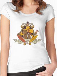 Bear & Bird Crest Women's Fitted Scoop T-Shirt