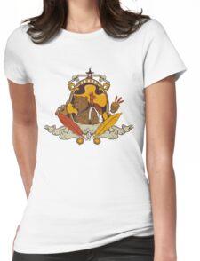Bear & Bird Crest Womens Fitted T-Shirt